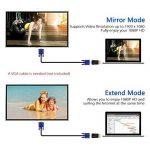 VicTsing Adaptateur HDMI vers VGA Convertisseur Plaqué d'or pour PC, Ultrabook, PC Portable, DVD, PC de Bureau,Intel Nuc, Chromebook, Roku Streaming Media Player, et d'autres Appareils avec Port HDMI de la marque VICTSING image 3 produit