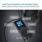 Victure Lecteur MP3 en Metal 100H Lecteur Musique Portable 8Go avec Radio FM, 1.8 TFT Écran, Enregistreur Vocal, Supporte carte SD jusqu'à 64Go de la marque Victure image 3 produit