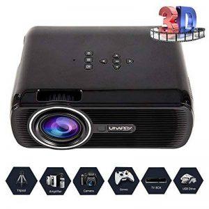 Video Projecteur LED Home Cinema Full Soutien HD 1080p Multimédia 3000 Lumens HDMI USB VGA LCD de la marque seebesteu image 0 produit