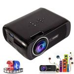 Video Projecteur LED Home Cinema Full Soutien HD 1080p Multimédia 3000 Lumens HDMI USB VGA LCD de la marque seebesteu image 1 produit