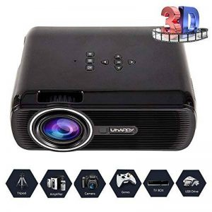 Video Projecteur LED Home Cinema Full Soutien HD 1080p Multimédia 3000 Lumens HDMI USB VGA LCD de la marque seebesteu image 0 produit