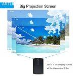 Video Projecteur Portable, Artlii Retroprojecteur Mini LED, Supporte le 1080p, Compatible iPhone / Smartphone / PC / Xbox /PS4 pour Jeux Vidéos et Films de la marque image 3 produit