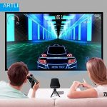 Video Projecteur Portable, Artlii Retroprojecteur Mini LED, Supporte le 1080p, Compatible iPhone / Smartphone / PC / Xbox /PS4 pour Jeux Vidéos et Films de la marque image 1 produit