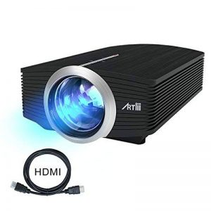 Video Projecteur Portable, Artlii Retroprojecteur Mini LED, Supporte le 1080p, Compatible iPhone / Smartphone / PC / Xbox /PS4 pour Jeux Vidéos et Films de la marque image 0 produit