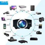 Video Projecteur Portable, Artlii Retroprojecteur Mini LED, Supporte le 1080p, Compatible iPhone / Smartphone / PC / Xbox /PS4 pour Jeux Vidéos et Films de la marque image 2 produit