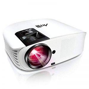Videoprojecteur Full HD, Artlii Projecteur HD Portable, Supporte Le 1080p, 3D, Compatible Clé USB, iPhone, PC, Laptop Regarder Football, NBA, Roland Garros de la marque Artlii image 0 produit