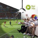 Videoprojecteur Full HD, Artlii Projecteur HD Portable, Supporte Le 1080p, 3D, Compatible Clé USB, iPhone, PC, Laptop Regarder Football, NBA, Roland Garros de la marque Artlii image 1 produit