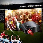 Vidéoprojecteur Full HD, Artlii Rétroprojecteur 3500 Lumens, Supporte Le 1080p, Compatible Clé USB, iPhone, PC, Laptop Regarder Football, NBA, Roland Garros de la marque Artlii image 4 produit