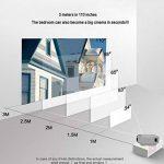 Vidéoprojecteur Mini Micro Projecteur Portable T5 HD Home Projecteur LED (Couleur : Gray) de la marque Y-YF image 2 produit