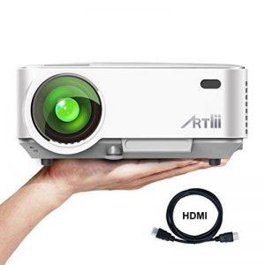 Videoprojecteur Portable, ARTLII Retroprojecteur 2000 Lumens LED HD 1080p Projecteurs pour Jeu Video Photos Films (Blanc) de la marque Artlii image 0 produit