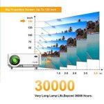 Videoprojecteur Portable, ARTLII Retroprojecteur 2000 Lumens LED HD 1080p Projecteurs pour Jeu Video Photos Films (Blanc) de la marque Artlii image 4 produit