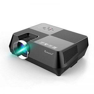 Vidéoprojecteur portable TECHSTICK Mini Retroprojecteur Multimédia Projecteur 1080P 1500 lumens Home Cinéma HDMI VGA USB AV SD de la marque Techstick image 0 produit