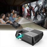 Vidéoprojecteur portable TECHSTICK Mini Retroprojecteur Multimédia Projecteur 1080P 1500 lumens Home Cinéma HDMI VGA USB AV SD de la marque Techstick image 4 produit
