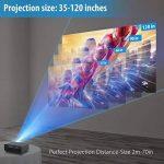 vidéo projecteur cinéma led TOP 2 image 4 produit