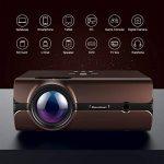 Vidéoprojecteur 2000 Lumens Excelvan LED Retroprojecteur HD 1080P Soutenu Multimédia Cinéma Maison Projecteur Portable HDMI USB SD Carte VGA de la marque Excelvan image 3 produit