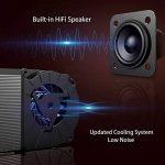 Vidéoprojecteur 2000 Lumens Excelvan LED Retroprojecteur HD 1080P Soutenu Multimédia Cinéma Maison Projecteur Portable HDMI USB SD Carte VGA de la marque Excelvan image 4 produit