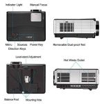 vidéoprojecteur 4000 lumens TOP 1 image 1 produit