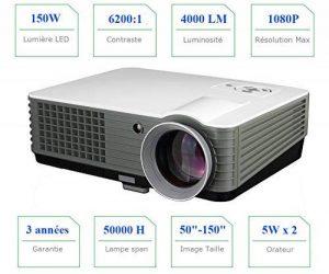 vidéoprojecteur 4000 lumens TOP 12 image 0 produit