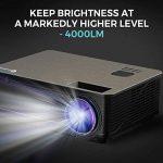 vidéoprojecteur 4000 lumens TOP 14 image 1 produit
