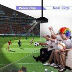 Vidéoprojecteur Full HD, Artlii Rétroprojecteur 3500 Lumens, Supporte Le 1080p, Compatible Clé USB, iPhone, PC, Laptop Regarder Football, NBA, Roland Garros de la marque Artlii image 1 produit