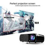 Vidéoprojecteur HD, Projecteur Home Cinéma Ogima BL20, 2600 Lumens Projecteur LCD Supporte 1080P Full HD VGA / HDMI / USB / SD / AV Entrée de la marque OGIMA image 2 produit
