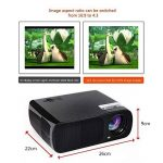 Vidéoprojecteur HD, Projecteur Home Cinéma Ogima BL20, 2600 Lumens Projecteur LCD Supporte 1080P Full HD VGA / HDMI / USB / SD / AV Entrée de la marque OGIMA image 3 produit