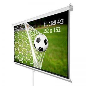Vidéoprojecteur Home Cinéma Store Toile HDTV 152x 152cm pour 1: 14: 316: 9 de la marque Carparts-Online image 0 produit