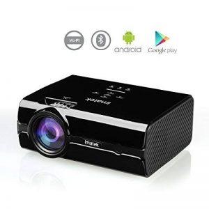 Vidéoprojecteur, IMATEK PJ-B452 Projecteur Vidéo Multifonctions.embarqué Système Android Préinstallé Google Play,Télécharger APP.WiFi Réseau sans Fil et Bluetooth Fonctions. de la marque IMATEK image 0 produit