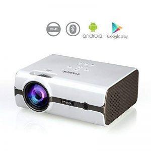Vidéoprojecteur, IMATEK PJ-B452 Projecteur Vidéo Multifonctions.embarqué Système Android Préinstallé Google Play, Télécharger APP.WiFi Réseau sans Fil et Bluetooth Fonctions. de la marque IMATEK image 0 produit