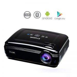 Vidéoprojecteur, IMATEK PJ-B582 Projecteur Vidéo Multifonctions. embarqué Système Android Préinstallé Google Play, Télécharger APP. WiFi Réseau sans Fil et Bluetooth Fonctions. de la marque IMATEK image 0 produit
