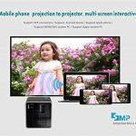 Vidéoprojecteur LCD Coloré(TM) Video Projector, Beamer ,Mini WiFi 30 Lumen 1080p Media Projecteur Batterie de Haut-Parleur intégrée,Vidéo multimédia pour la Maison, Business, Camping /DLP de la marque Coloré image 3 produit