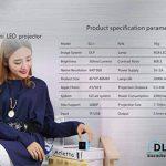 Vidéoprojecteur LCD Coloré(TM) Video Projector, Beamer ,Mini WiFi 30 Lumen 1080p Media Projecteur Batterie de Haut-Parleur intégrée,Vidéo multimédia pour la Maison, Business, Camping /DLP de la marque Coloré image 4 produit
