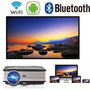 vidéoprojecteur led wifi bluetooth TOP 1 image 0 produit