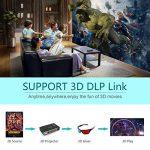 vidéoprojecteur led wifi bluetooth TOP 12 image 3 produit