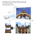 vidéoprojecteur led wifi bluetooth TOP 14 image 3 produit