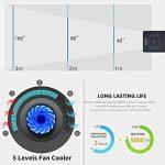vidéoprojecteur led wifi bluetooth TOP 9 image 4 produit