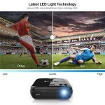 Vidéoprojecteur, LESHP 1080p Full HD Projecteur LCD Retroprojecteur Portable Home Cinéma 3200 Lumens Soutien HDMI/VGA/USB/AV/TV/YPbPr de la marque Cozime image 1 produit