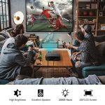 Vidéoprojecteur, LESHP 1080p Full HD Projecteur LCD Retroprojecteur Portable Home Cinéma 3200 Lumens Soutien HDMI/VGA/USB/AV/TV/YPbPr de la marque Cozime image 2 produit