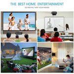Vidéoprojecteur, LESHP HD 1080P HD 3300 Lumens LED Mini LCD Projecteur de Cinema Thétre Familiale Privé, Projecteur Portable 1080P/USB/VGA/SD/HDMI pour Xbox/iphone/Smartphone/PC (Noir) de la marque LESHP image 4 produit