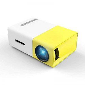 Vidéoprojecteur, Meer Mini Pico Portable LED LCD Projecteur Théâtre avec Entrée USB/SD/AV/HDMI pour Ordinateur, Ordinateurs Portables, PC, USB Disk,TV,de Film et de Jeu Vidéo, Camping de la marque Meer image 0 produit