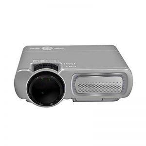Vidéoprojecteur Mini Micro Projecteur Portable T5 HD Home Projecteur LED (Couleur : Gray) de la marque Y-YF image 0 produit