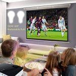 Vidéoprojecteur,NIERBO Projecteur 3D DLP Courte Distance Projecteur à Technologie DLP Full HD 1080P Ultra courte focale Projector de la marque NIERBO image 4 produit