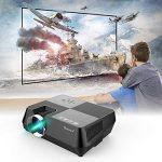 Vidéoprojecteur portable TECHSTICK Mini Retroprojecteur Multimédia Projecteur 1080P 1500 lumens Home Cinéma HDMI VGA USB AV SD de la marque Techstick image 1 produit
