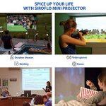 Vidéoprojecteur Siroflo P8S DLP Mini Projecteur Portable LED Soutien HD 1080p 854*480 HDMI USB TF Card DC Port Projecteur de Cinéma Maison de la marque siroflo image 1 produit