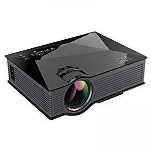 """Vidéoprojecteur, Stoga UC46 Mini Projecteur Vidéo 1200 Lumens Full Color 130 """"Image Portable LCD LED Cinéma Maison Cinéma HD 800 * 480P Vidéo de la marque Stoga image 0 produit"""