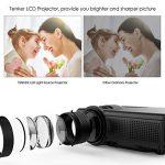 vidéoprojecteur tv led TOP 2 image 1 produit