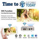 vidéoprojecteur wifi dlna TOP 5 image 1 produit