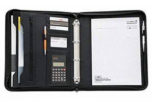 Wedo College 0581001 Conférencier avec calculette 4 anneaux Noir de la marque Werner-Dorsh-WEDO image 0 produit