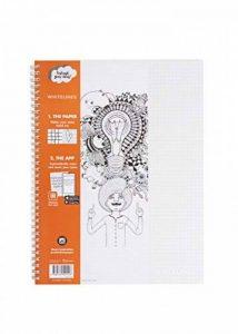 whitelines Link A4 Cahier Quadrillé 80 gm Papier 60 Feuilles FSC de la marque whitelines image 0 produit