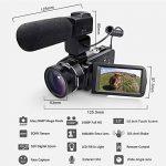 WiFI Caméscope Caméra, Eamplest Télécommande Full HD 1080P 30FPS 24MP 16X Caméra Vidéo Zoom Numérique, Enregistreur Numérique Caméra Numérique avec Microphone Externe et Grand Angle(Z20) de la marque Eamplest image 1 produit